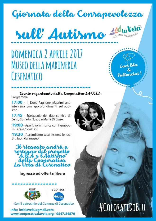 2 Aprile 2017 Giornata della Consapevolezza sull'Autismo