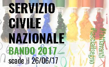 BANDO DI SERVIZIO CIVILE 2017